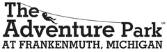 The Adventure Park at Frankenmuth's logo (black and white)