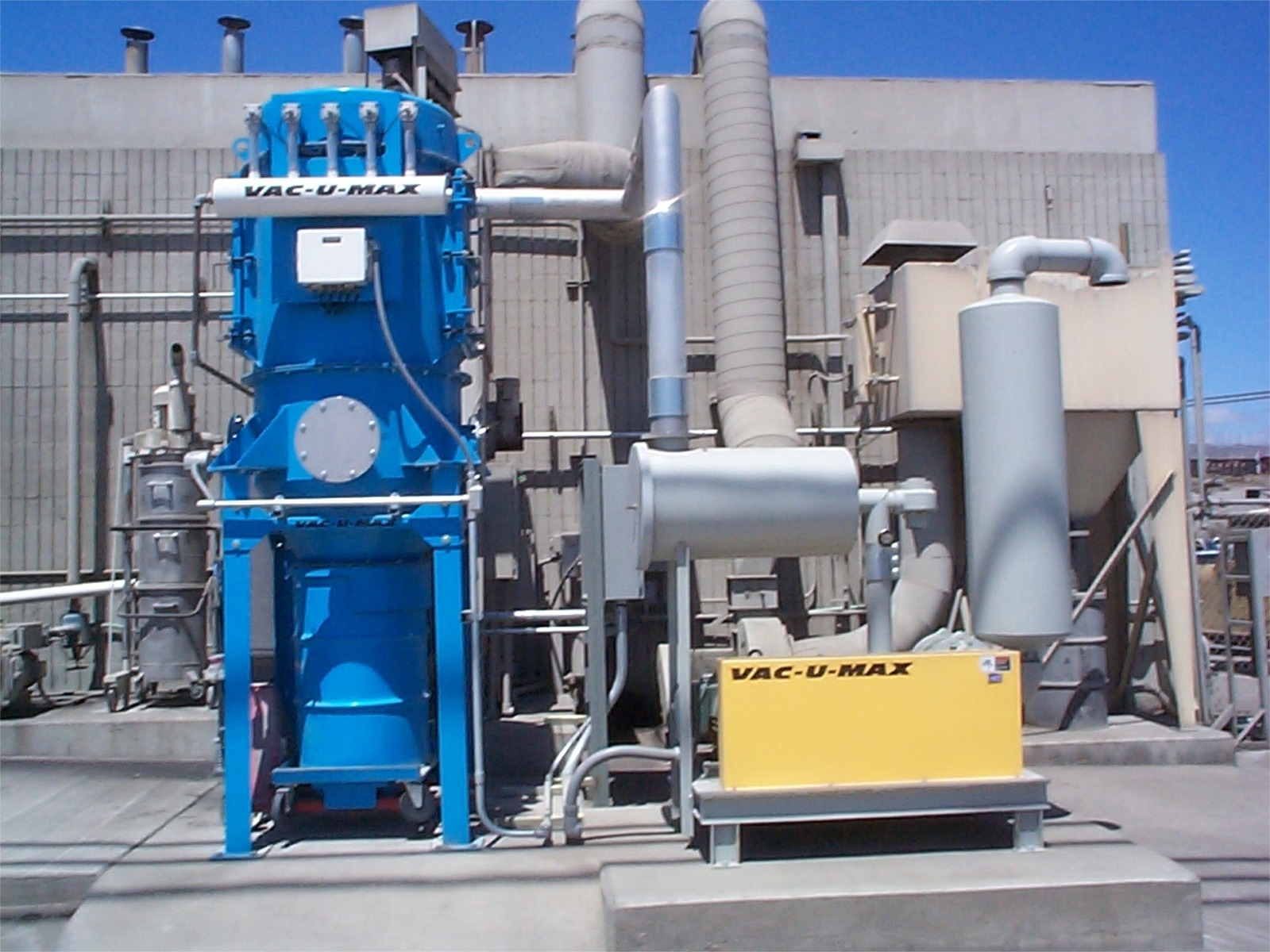 Industrial Blower Systems : Industrial central vacuum cleaner critical component of