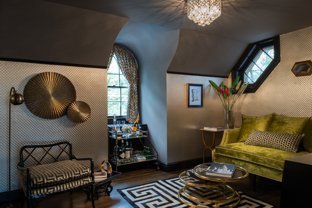 Elizabeth Holmes Design creates fashion-inspired interior at Design Show House Cedar Knolls. Photo: Ilir Rizaj