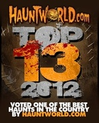 Voted one of the top 13 Scream parks in the nation.
