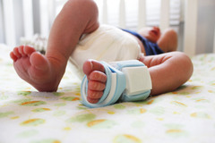 Sock Sending Vitals To Smart Phone<br />
