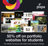Pixpa.com announces 50% discount on portfolio websites for students
