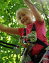 A climb at The Adventure Park is not only fun but builds self-confidence.
