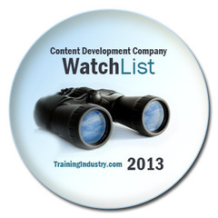JPL Named to 2013 Content Development Companies Watch List by TrainingIndustry.com