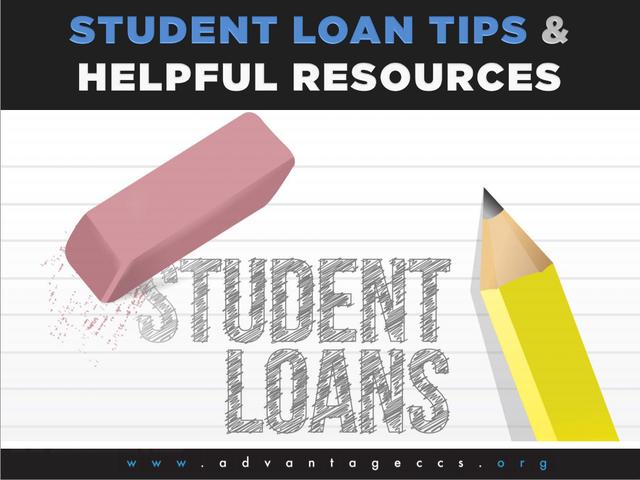 Advantage CCS: Student Loan Tips Slide Show