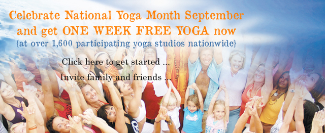 National Yoga Month September