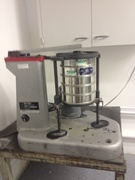 Ro-Tap- This is a sieve shaker to do analysis on particle size of powders and formulations.