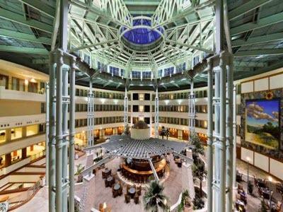 Hilton Austin Airport Atrium