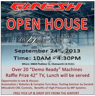 Ganesh Machinery Open House