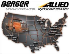 Berger Allied Moving Named ProMover by the American Moving & Storage Association