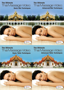 "Learn Thai Massage With ""The Ultimate Thai Massage Video"" Instructional DVD Series"