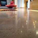 Residential Concrete Floor Polished With A TITAN And Sealed With ULTRAGuard