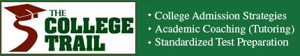 The College Trail logo