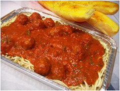 Italian dinners from Luigi's Pizza and Pasta of Glenside, PA.