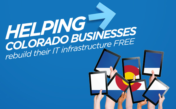 onthenetOffice is helping Colorado businesses rebuild their IT infrastructures for free.