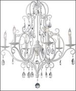 Six Light Single Tier Chandelier<br />