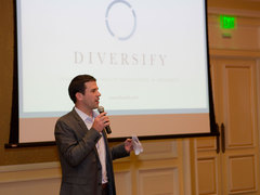 Diversify's co-founder and President, Ryan Smith