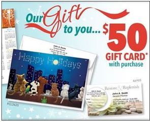 Sharper Cards Offers Gift Cards For up to $50 on Orders