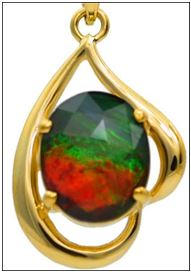 Alaska Jewelry Unveils Unique Ammolite Jewelry Time For