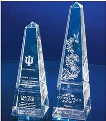 EDCO Sparkles with New Optical Crystal and Glass Awards