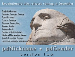 Revolutionary new name databases set for December release