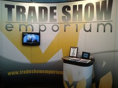 Trade Show Emporium's Eco-Friendly Pop Up Trade Show Booth