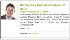 The Shocking Truth About Vitamin D Status : Thu Nov 14, 2013<br />