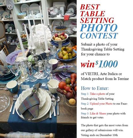 la Terrine's Best Table Contest 2013