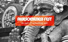 Awesomness Fest Logo