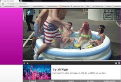 Edge Music Network's Video Player