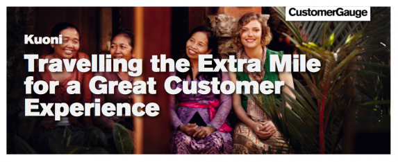 Kuoni: Travelling the Extra Mile for a Great Customer Experience