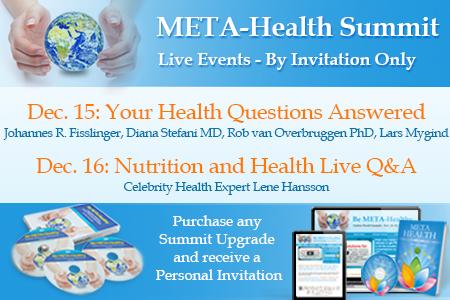 META-Health Summit and META-Health University Live Online Events www.metahealthuniversity.com