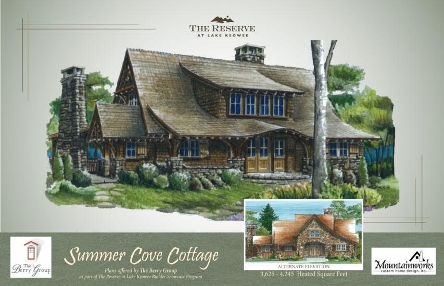 Builder showcase program allows buyers to custom design a for Lake keowee house plans