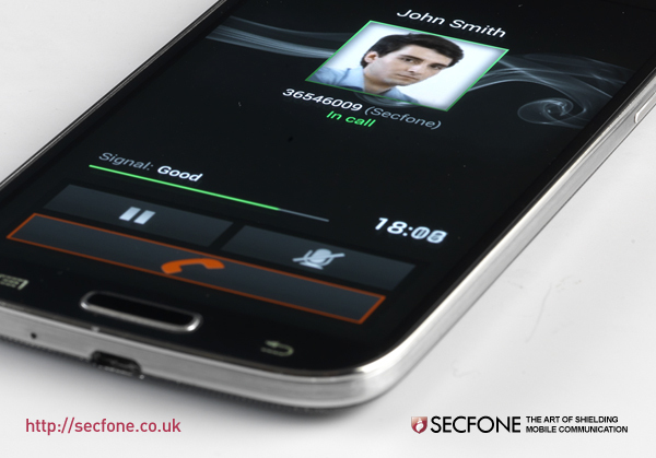 Secfone with triple-level protection on Samsung Galaxy S IV