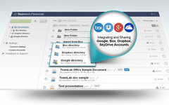 Integrate your cloud storage to Teamlab Office