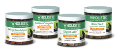 Wholistic Pet Organics adds to their National Animal Supplement Council (NASC) approved product line with new palatable, functional soft chews, available for dogs and cats.
