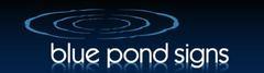 Blue Pond Signs logo