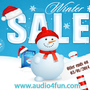 Spread the Love on Christmas with Huge Surprises from Audio4fun.com