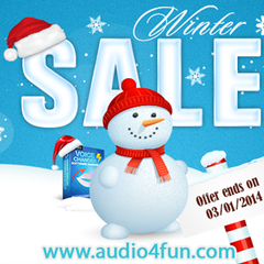 Audio4fun Knocks on Your Door with Super Discounts and Surprising Bonus