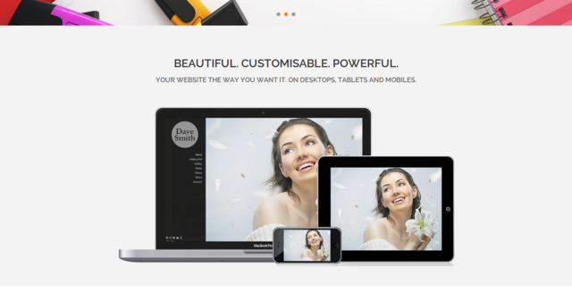 Pixpa creates awesome portfolio websites for photographers, designers and artists.