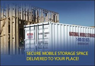 Got Stuff?  Get Portable Storage from National Construction Rentals