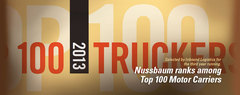 Nussbaum named Top 100 Trucker