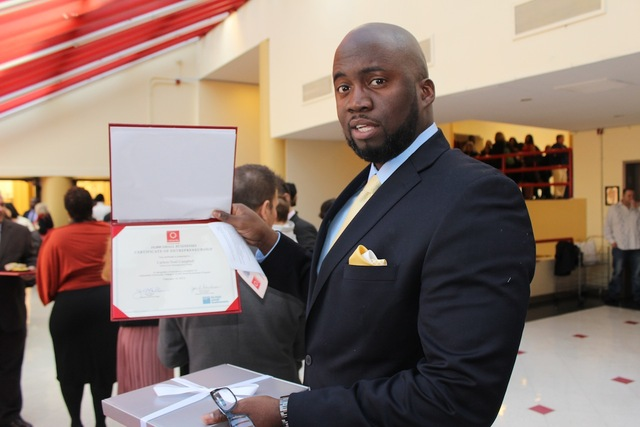 Graduate of Goldman Sach's 10k Small Business Program Carlton Noel Campbell.