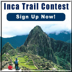 Win a Free Inca Trail Trek!