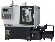 "CYCLONE-32NCY 4 Axis CNC Turn-Mill Center - with ""C"" and ""Y"" Axis Combine Turning – Milling"