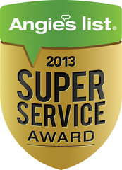 Plumbing Plus Earns Esteemed Angie's List Super Service Award For Third Straight Year