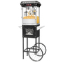 Black Good Time Full Cart Popcorn Popper by Great Northern Popcorn