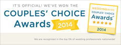 WeddingWire Couple's Choice 2014 Award