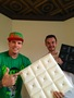 Vanilla Ice with Milan Jara the owner of Decorative Ceiling Tiles,Inc