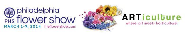 """PHS Philadelphia Flower Show """"ARTiculture"""""""